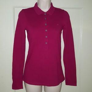 Old Navy Perfect Fit Magenta/Pink Shirt Top Sz XS
